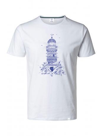 T-shirt BLANC FLOTTEUR