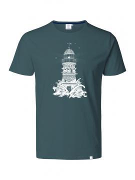 T-shirt GRIS HAUTE MER PHARE