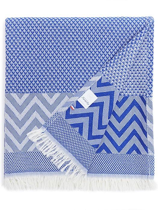 BEACH TOWEL BLUE FLAG
