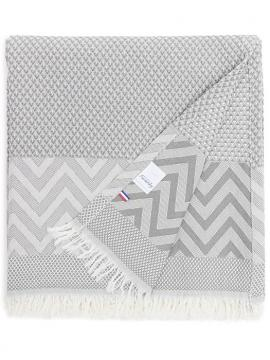 BEACH TOWEL SOFT GREY