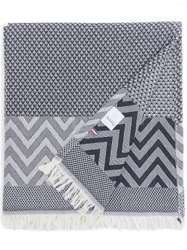 BEACH TOWEL DARK GREY