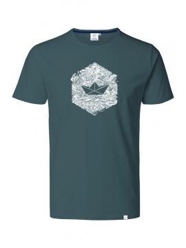HEXAGON GRAUES MEER T-Shirt