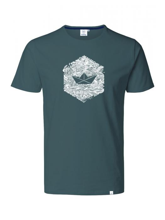 T-shirt ENCRE HEXAGONE