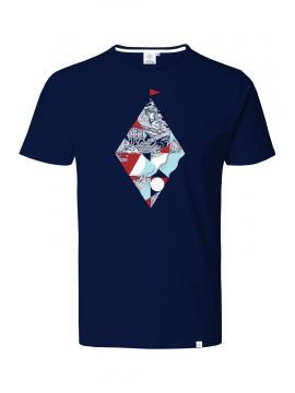 NAVY FLOTTER-T-Shirt