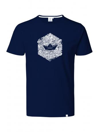 T-shirt NAVY HEXAGONE