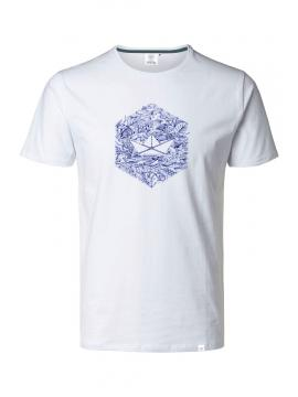 T-shirt WHITE HEXAGONE