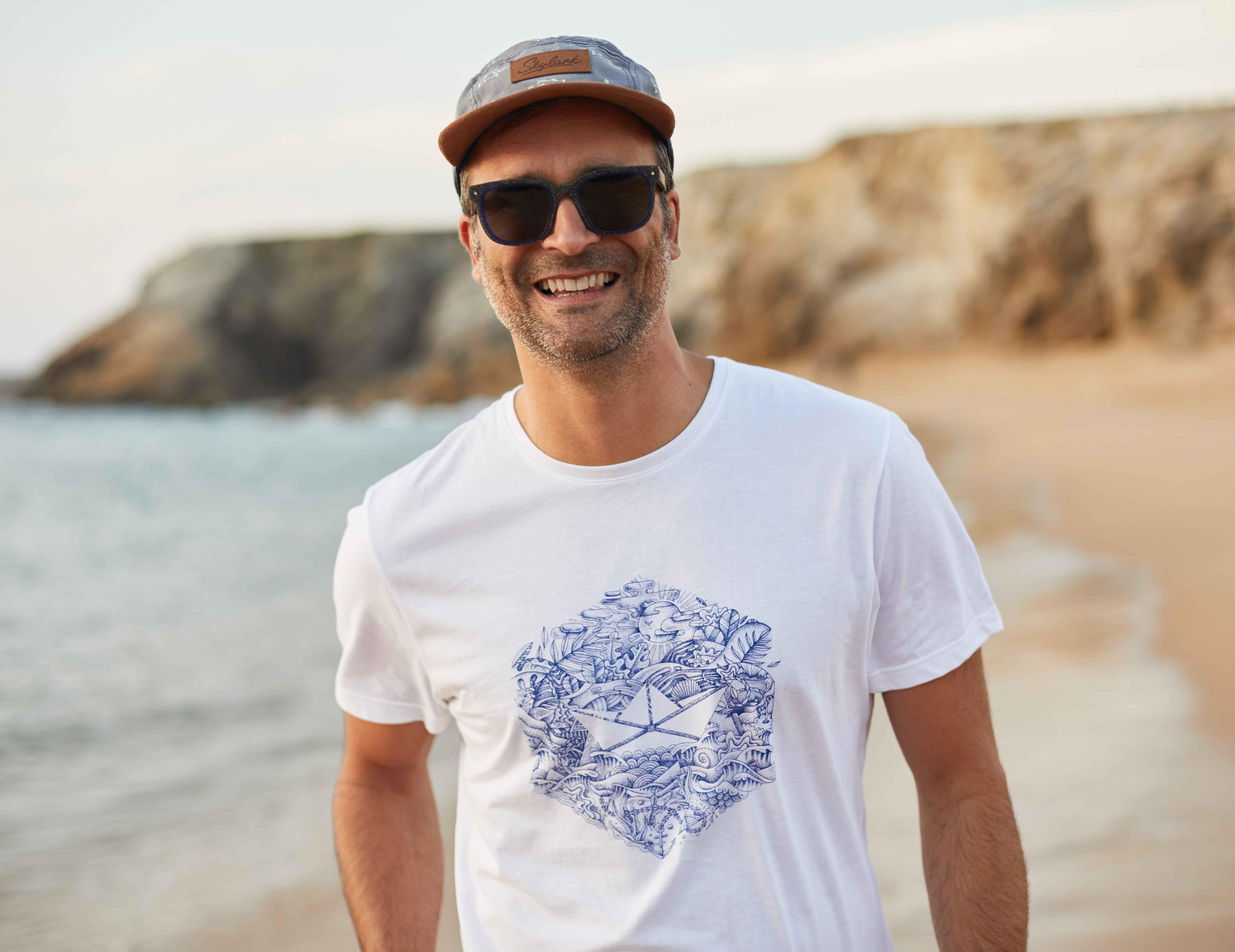 t-shirt et lunettes friendly frenchy